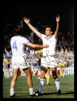 Trevor Brooking Signed West Ham United 12x16 Football Photograph : C