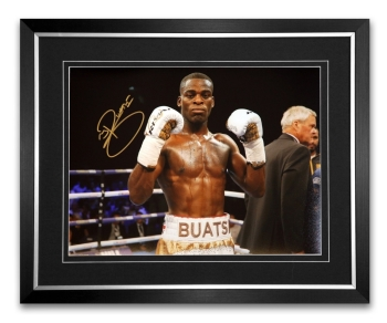 Joshua Buatsi Signed And Framed 12x16 Boxing Montage