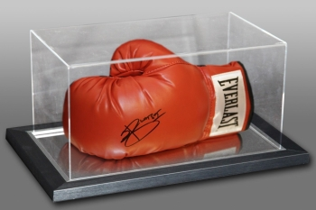 Joshua Buatsi Hand Signed Red Everlast Boxing Glove In An Acrylic Case