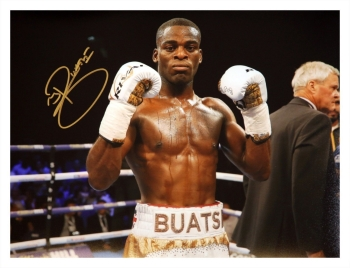 *New* Joshua Buatsi Hand Signed 12x16 Boxing Photograph