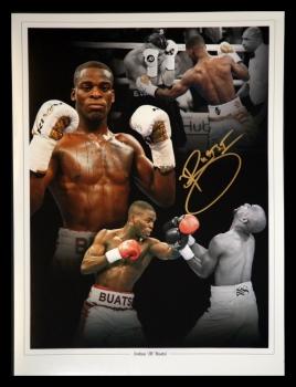 Joshua Buatsi Hand Signed 12x16 Boxing Montage