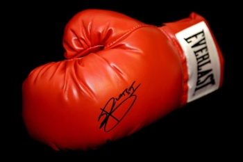 Joshua Buatsi Hand Signed Red Everlast Boxing Glove.