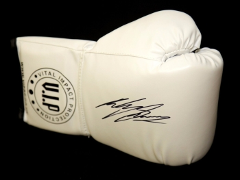 *New* Ricky Burns Signed White VIP Boxing Glove.