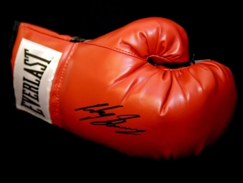 Ricky Burns Signed Red Everlast Boxing Glove.