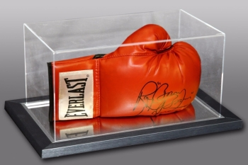 "Ray ""Boom Boom"" Mancini Signed Boxing Glove In An Acrylic Case"