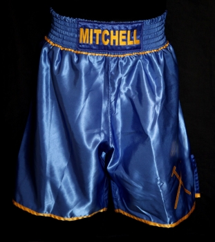 Kevin Mitchell Signed Custom Made Boxing Trunks