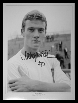 Rodney Marsh Fulham Fc Signed 12x16 Football Photograph