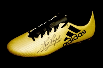 Kevin Keegan Hand Signed Adidas Football Boot