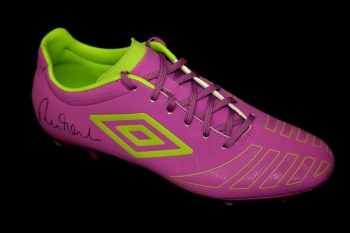 Robbie Fowler Liverpool Hand Signed Umbro Football Boot
