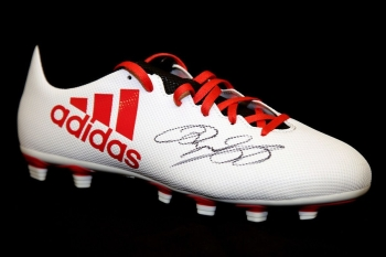Ryan Giggs Manchester United Hand Signed Adidas  Football Boot