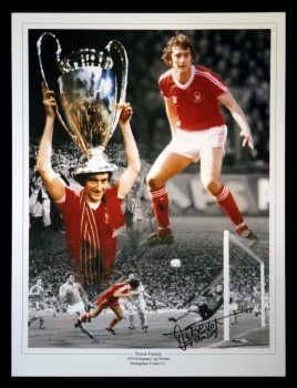 Trevor Francis Signed 12x16 Football Photograph : B