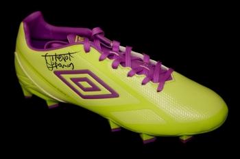 *New* Trevor Francis Hand Signed Umbro Football Boot