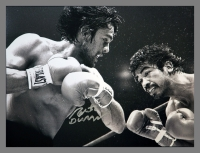 Robert Duran Signed Boxing 12x16 Photograph : C