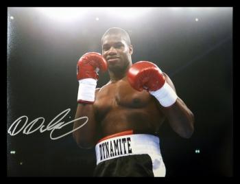 Daniel Dubois Signed Boxing 12x16 Photograph : B