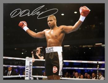 Daniel Dubois Signed Boxing 12x16 Photograph : A