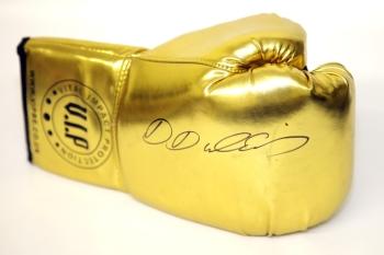 Daniel Dubois Hand Signed Gold Vip Boxing Glove