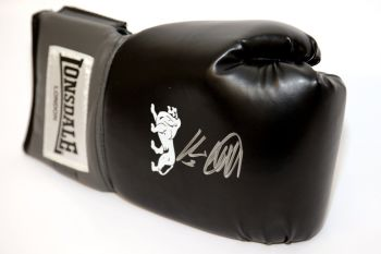Kevin Mitchell Hand Signed Black Boxing Glove