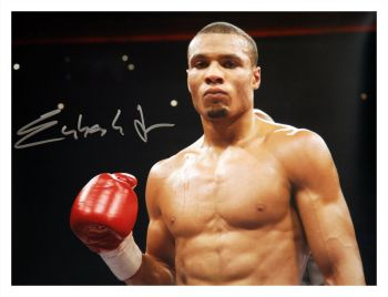 Chris Eubank Jr Signed Boxing Large Photograph : A