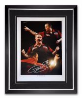 Phil Taylor Signed And Framed 12x16 Photograph :B