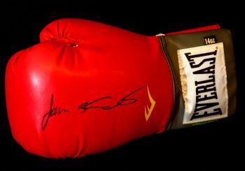 James Toney Hand Signed Glove