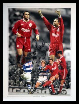 Neil Razor Ruddock Signed 12x16 Liverpool Fc Photograph