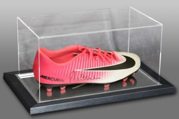 Robbie Fowler Signed Nike Football Boot Presented In An Acrylic Case
