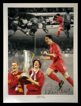 Robbie Fowler Liverpool Signed 12x16 Football Photograph