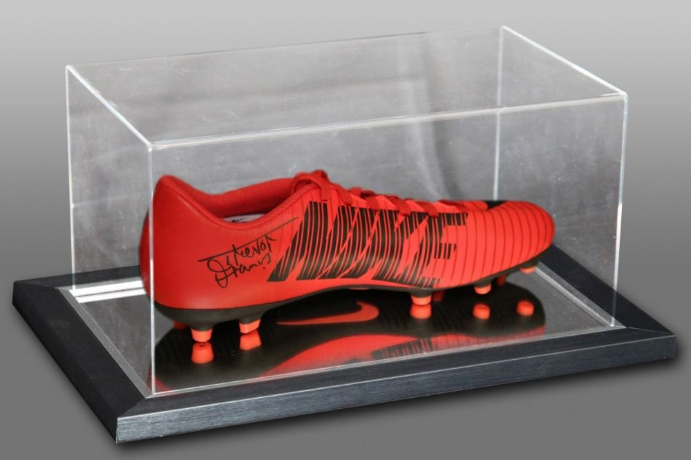 Trevor Francis Signed Nike Football Boot Presented In An Acrylic Case