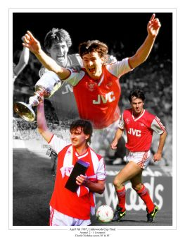 Charlie Nicholas Signed 10x8 Photograph B : Collectormania Pre order