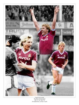 Frank McAvennie  Signed 10x8 Photograph A : Collectormania Pre order