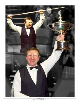 Dennis Taylor Signed 10x8 Photograph B : Collectormania Pre order