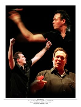 Bobby George Signed 10x8  Montage : Collectormania Pre order