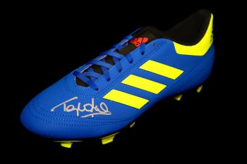 Tony Cottee Hand Signed Adidas Football Boot
