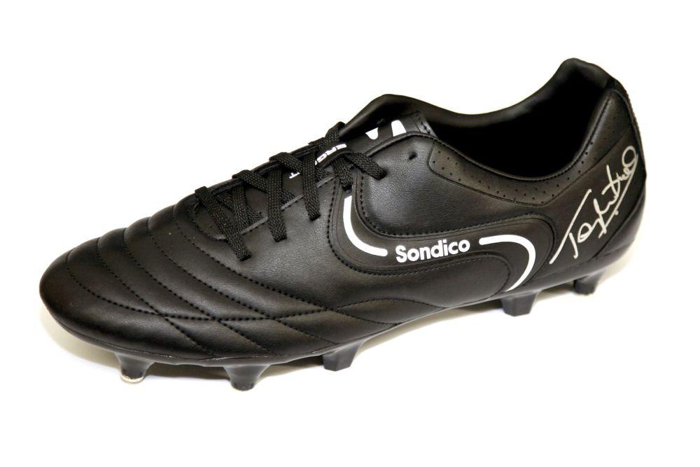Tony Cottee Hand Signed Sondico Football Boot