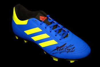 Kevin Keegan Hand Signed Adidas Football Boot: A