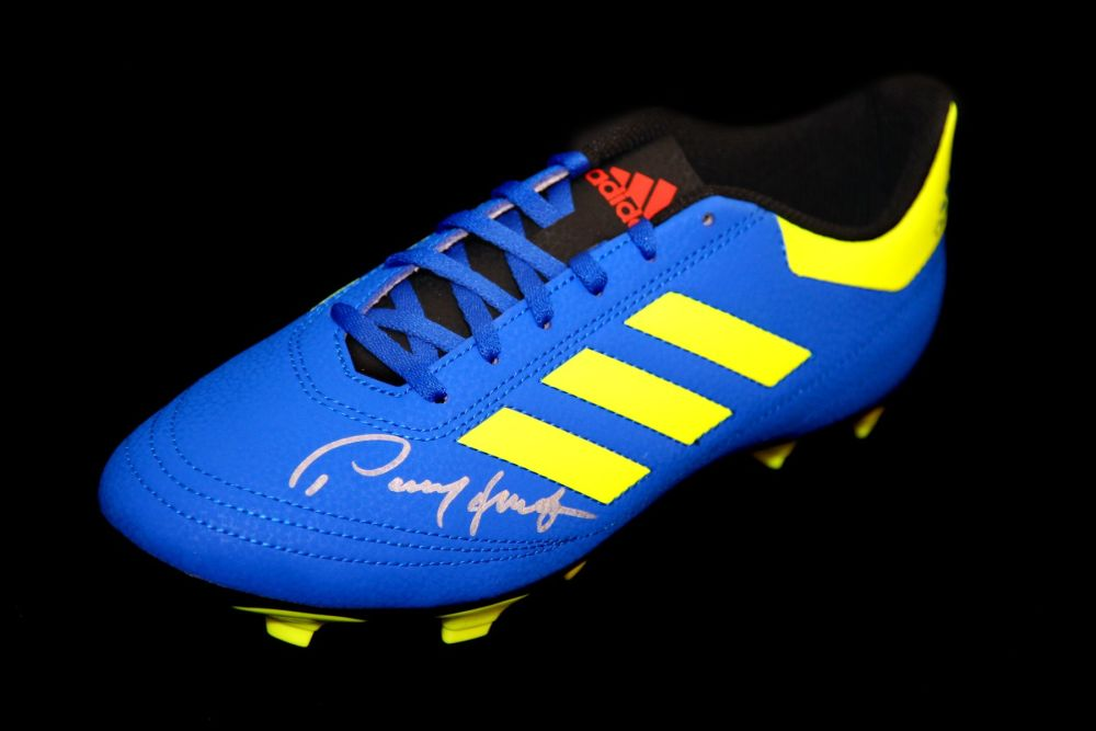 Paul Mcgrath Hand Signed Football Boot.