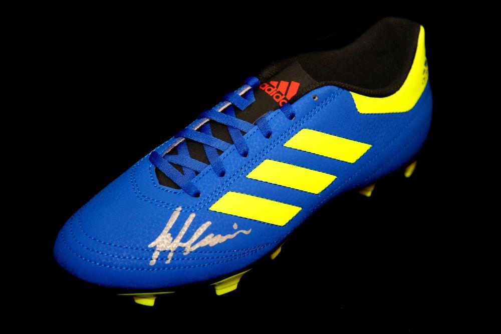 Frank McAvennie Hand Signed Adidas Football Boot