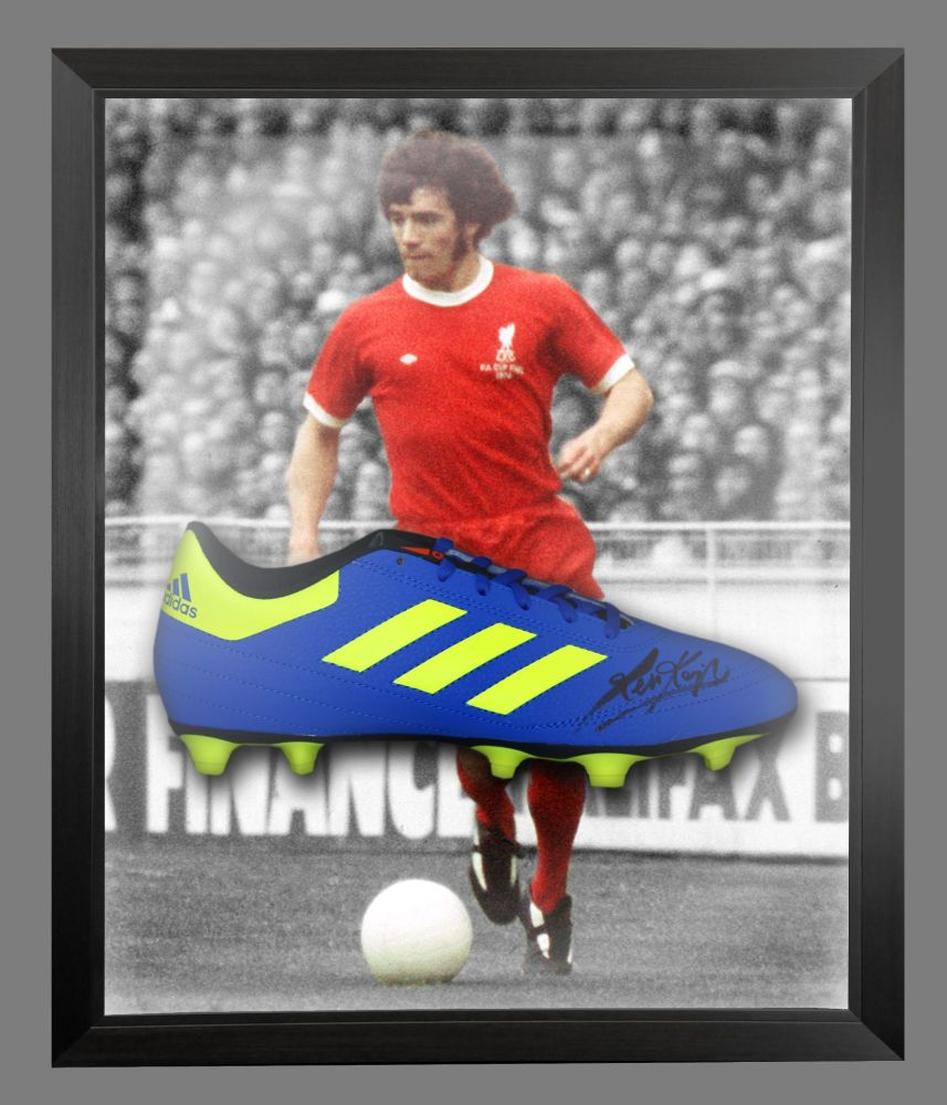 Kevin Keegan Signed Football Adidas Boot In An Acrylic Dome Frame : C