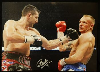 Carl Froch Signed 12x16 Photograph