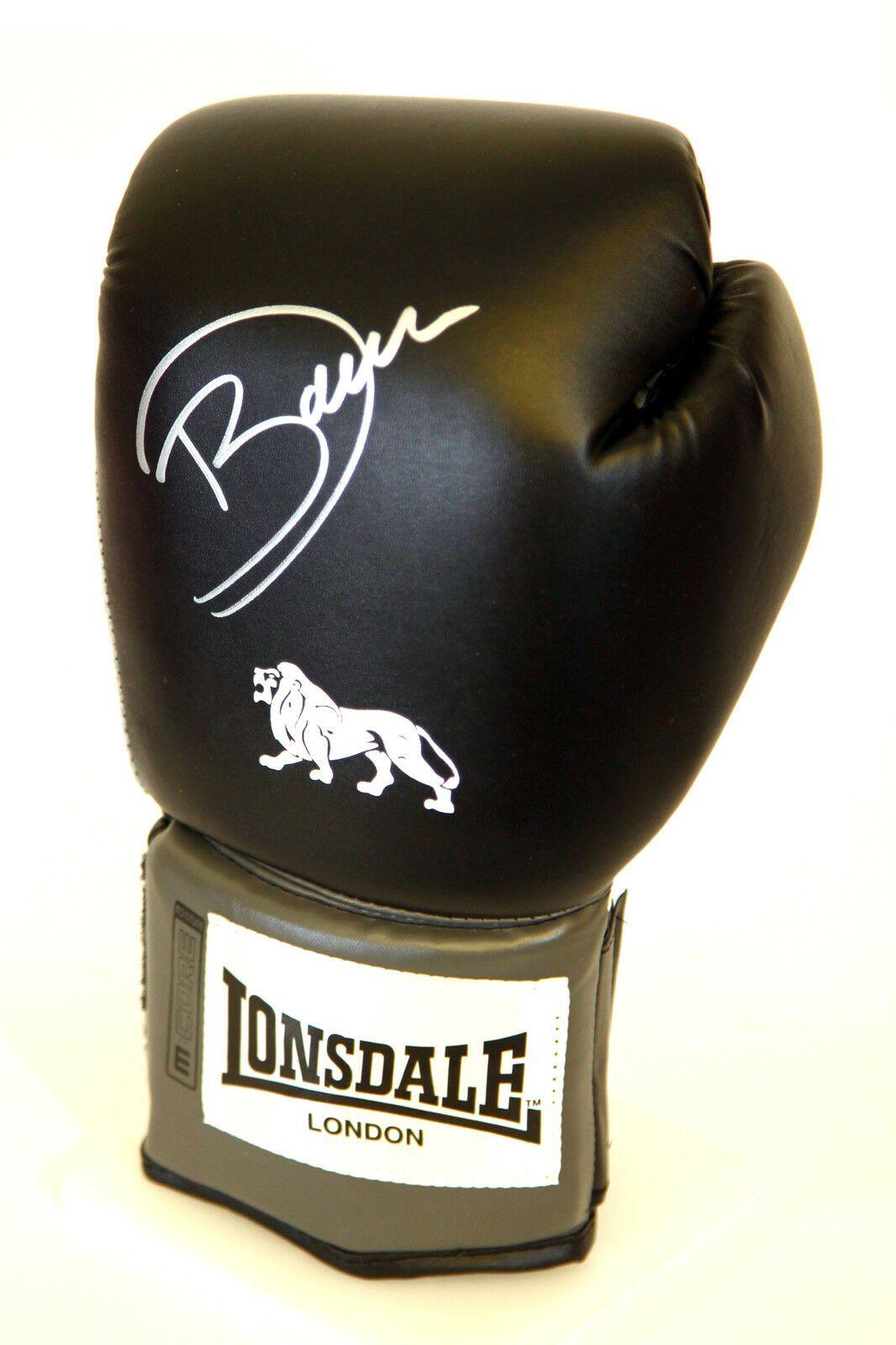 Darren Barker Hand Signed Black Lonsdale Boxing Glove