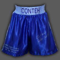 John Conteh Signed Custom Made Boxing Trunks