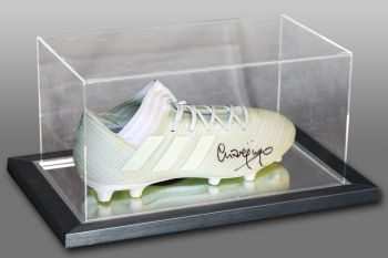 Charlie Nicholas Signed Football Boot Presented In An Acrylic Case