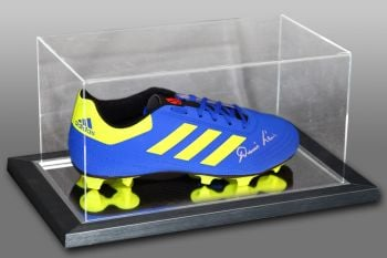 Denis Law Signed Football Boot Presented In An Acrylic Case: B
