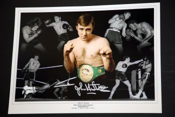 John H Stracey 12x16 Signed Photograph