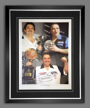 Phil Taylor Signed And Framed 12x16 Photograph : E
