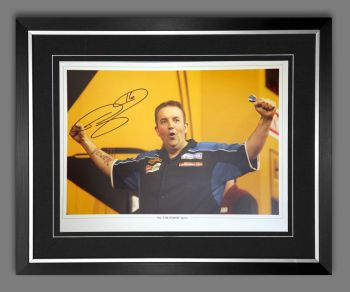 Phil Taylor Signed And Framed 12x16 Photograph : F