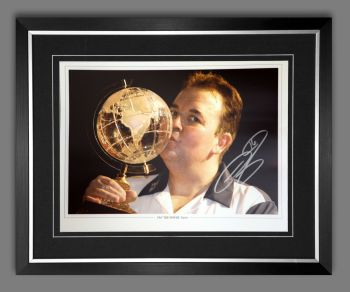 Phil Taylor Signed And Framed 12x16 Photograph : G