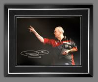 Phil Taylor Signed And Framed 12x16 Photograph : I