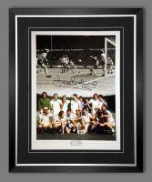 Trevor Brooking Signed And Framed West Ham United 12x16 Football Photo