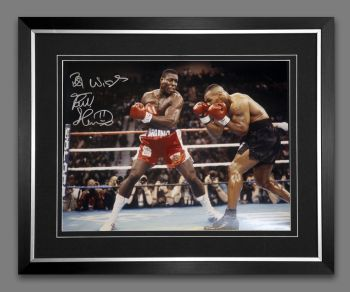 Frank Bruno 12x16 hand signed and Framed Photograph